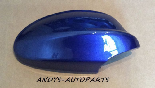 BMW 3 SERIES E90/91 2005 - 2008 WING MIRROR COVER L/H OR R/H IN MONTEGO BLAU